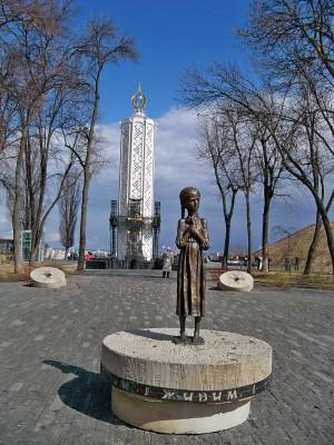 Monumentas Holodomoro aukoms Ukrainoje © Wikimedia Comons archyvo nuotr.