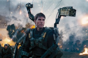 "Kino filmo ""Edge of Tomorrow"" kadras"