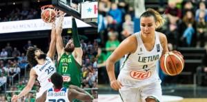 Jonas Valančiūna ir Kamilė Nacickaitė išrinkti geriausiais 2017-ųjų krepšininkais | LKF nuotr.