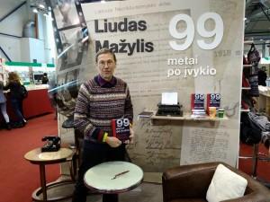 Liudas Mažylis Knygų mugėje