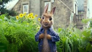 """Filmo """"Peter Rabbit"""" kadras"""