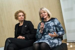 """prof. Virginija Jurėnienė (dešinėje), Bertos Tilmantaitės, multimedijų agentūros """"Nanook"""" nuotr."""