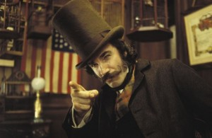 "Daniel Day Lewis / filmo ""Gangs of New York"" kadras"