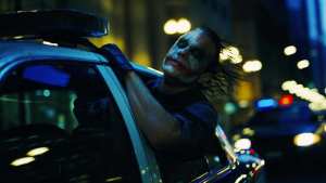 "Filmo ""The Dark Knight"" (2008) kadras"