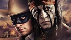 """Filmo """"The Lone Ranger"""" plakatas"""