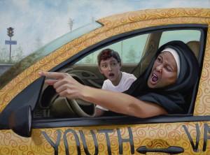 #1 Mieli tėvai, nesirūpinkit, Sesuo Regina nebevairuos bažnyčios furgono
