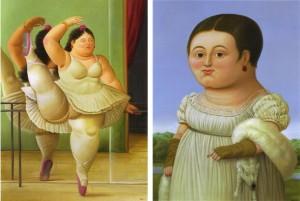 Fernando-Botero paveikslai