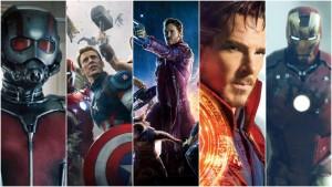 Marvel herojai