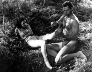 """Filmo """"Tarzan"""" kadras"""
