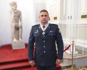 Kauno rajono policijos komisariato viršininkas A. Chraminas tvirtina, kad pasitikėjimas policija didėja. / Organizatorių archyvo nuotr.