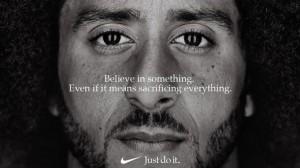 """Colin Kaepernick """"Nike""""  reklama"""