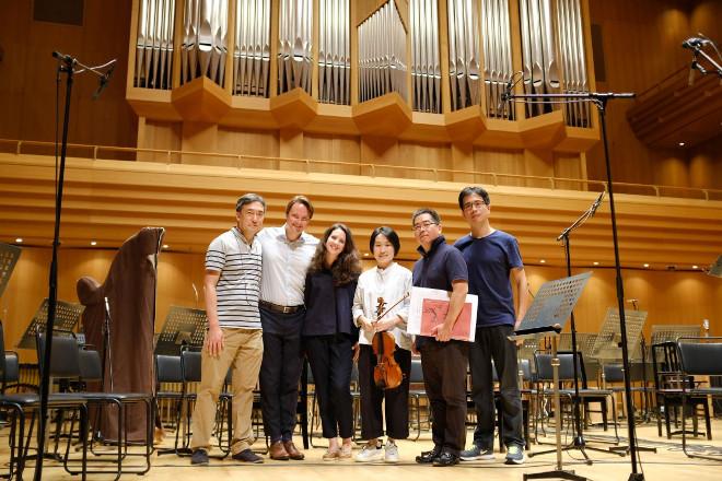 Irasas su Zhi-Jong Wang ir Tokyo Philharmonic Orchestra Tokijas 2018