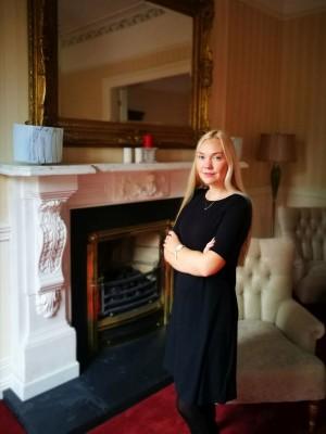 Justina Brazaitytė Airijoje / Asmeninio archyvo nuotr.