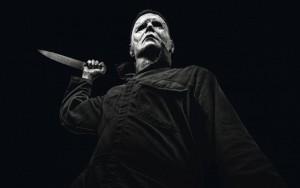 """Siaubo filmo """"Helovinas"""" kadras."""
