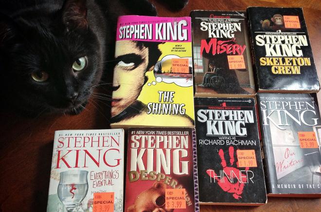 Stiveno Kingo knygos 2