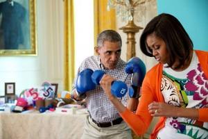 Barakas ir Mišelė Obamos / Oficialios FB paskyros nuotr.