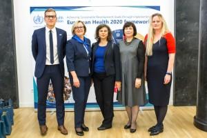 JT atstovai Lietuvoje / Organizatorių archyvo nuotr.