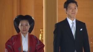 Princesė Ayako ir  Kei Moriya / Youtube archyvo nuotr.