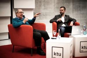 David Gluckman vizitas KTU / Justinos Šuminaitės nuotr.