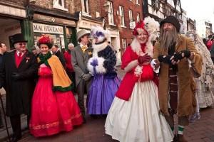 Ulverston Dickensian Festival nuotr.