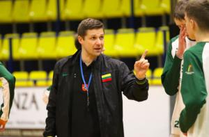 Donaldas Kairys paskirtas Lietuvos vaikinų jaunimo (U20) rinktinės vyr. treneriu. / Krepsinionamai.lt nuotr.