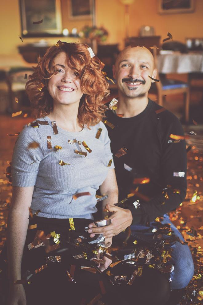 Jurgis Didziulis ir Erica Janings