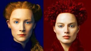 """Filmo """"Mary Queen of Scots"""" plakatas"""