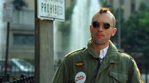 """Filmo """"Taxi Driver"""" kadras"""