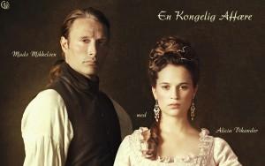 """Kino filmo """"The Royal Affair"""" plakato fragmentas"""