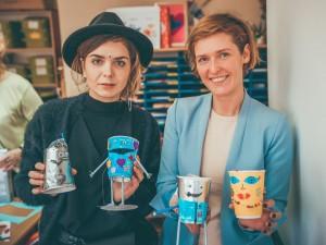 Jolita Vaitkutė ir Lina Katinė Širvintų vaikų dienos centre / Organizatorių archyvo nuotr.