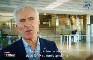 """Dainius Kepenis / LRT laidos """"Specialusis tyrimas"""" stop kadras"""