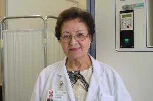 Odos ir venerinių ligų skyriaus vedėja Janina Stefanija Vasilavičienė  / Organizatorių archyvo nuotr.
