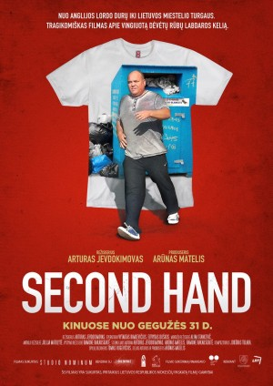 """Filmo """"Second Hand""""  plakatas"""