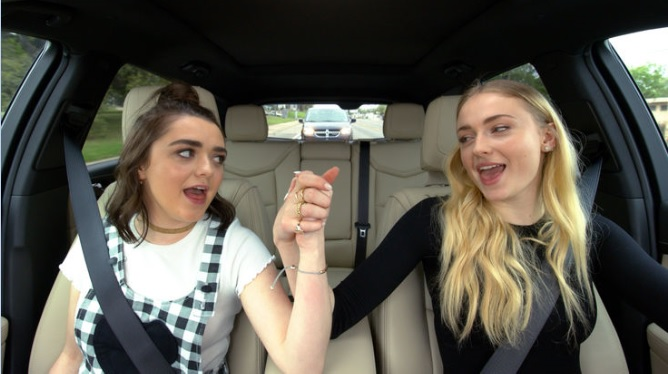 Sansa and Aria Stark