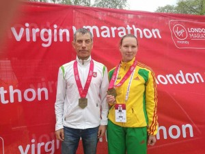 Aušra Garunkšnytė ir Linas Balsys / paralympics.lt archyvo nuotr.