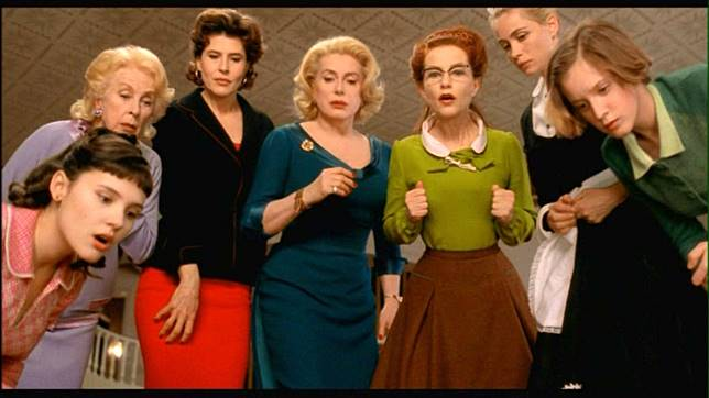 8 femmes, 2002 film movie