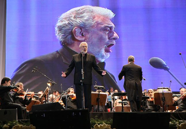 tenoras Plácido Domingo