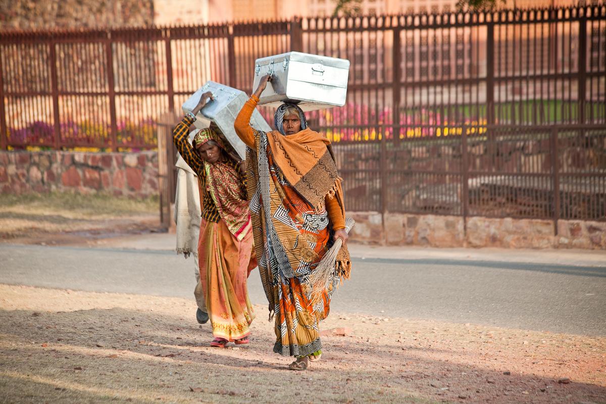 prekybininko darbo vietos indijoje)